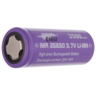 Efest IMR 26650 Purple Batteria al Litio 26650 3500mAh 64A Polo Piatto