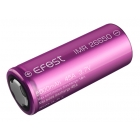 Efest Batteria al Litio IMR 26650 Purple 5000mAh 45A Polo Piatto