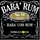 DREAMODS Aroma BABA' RUM N.70 10ml