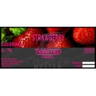 Twisted Vaping Aroma STRAWBERRY 10ml