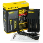 NITECORE Intellicharger New I2 Caricabatterie 2 Posti