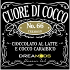 DREAMODS Aroma CUORE DI COCCO N.66 10ml