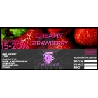 Twisted Vaping Aroma CREAMY STRAWBERRY 10ml
