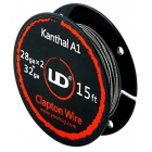 UD Youde Filo Clapton Kanthal A1 28gax2+32ga 5mt
