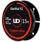 UD Youde Filo Clapton Kanthal A1 26ga+32ga 5mt